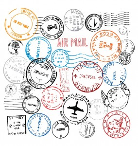 World-Postmark-Stamps-Vector-Set